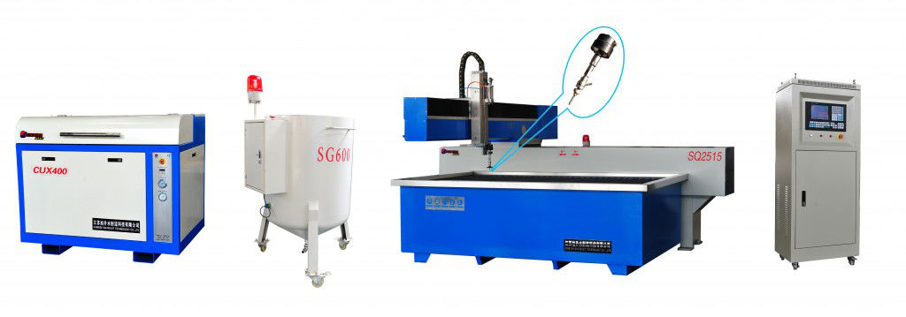 3 axis waterjet cutting machine